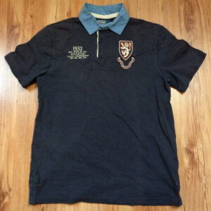 Ralph Lauren Polo Rugby Shirt Navy Blue M