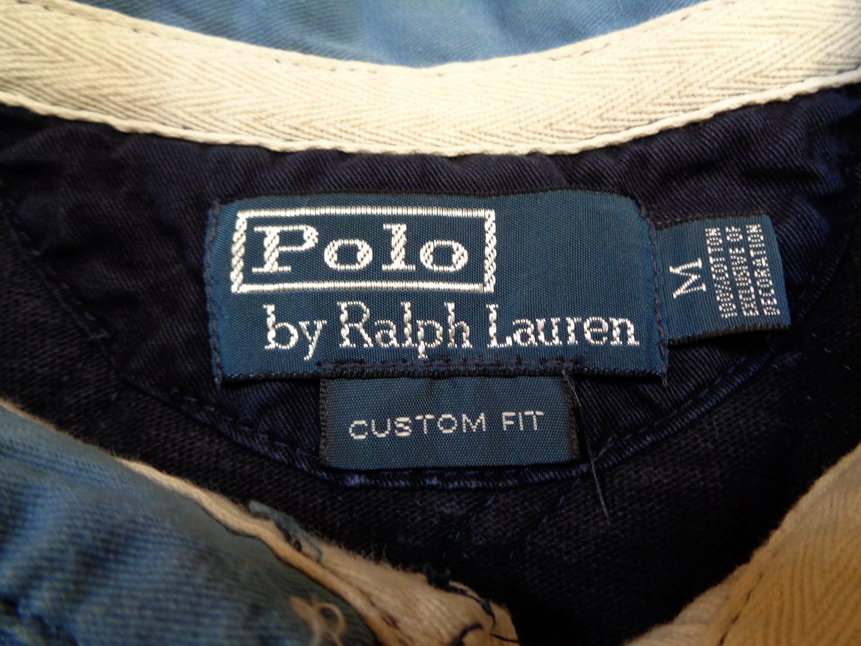 Ralph Lauren Polo Rugby Shirt Navy Blue M
