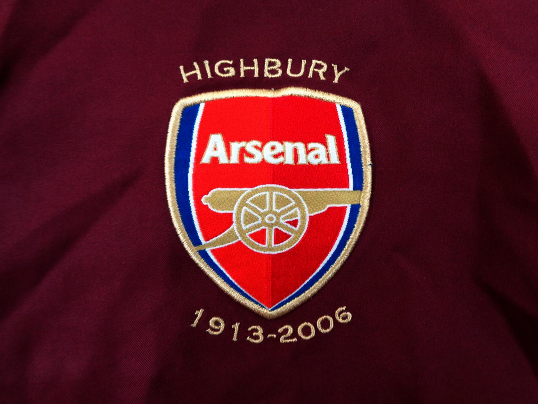 2005-06 Arsenal London Home Shirt L Nike HIGHBURY