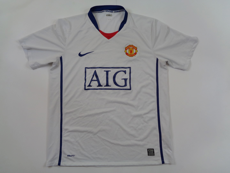 2008-09 Manchester United Away Shirt M Nike