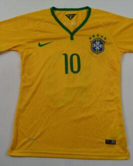 2014-16 Brazil Home Shirt S #10 NEYMAR