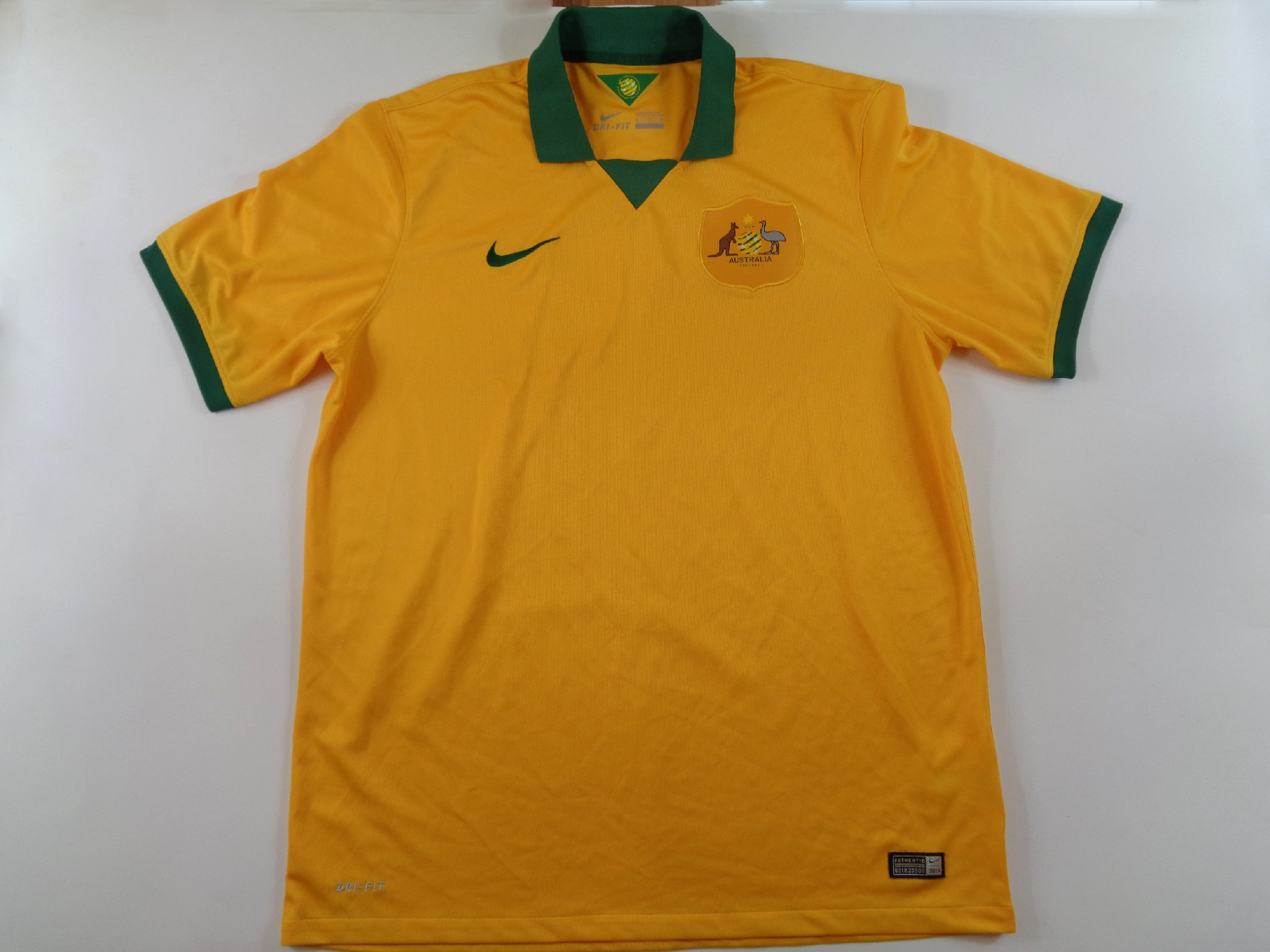 2014-16 Australia Home Shirt XL