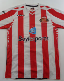 2007-08 Sunderland Home Shirt M Medium Umbro