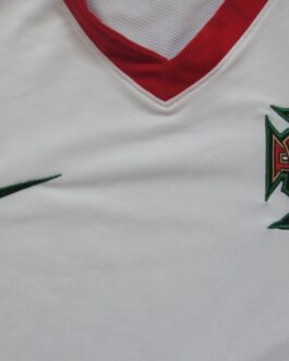 2008-10 Portugal Away Shirt L Large White Nike