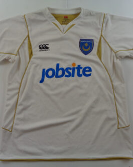 2009-10 Portsmouth Training Shirt XL Extra Large White Canterbury