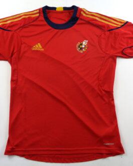 2010-11 Spain Training Shirt L Large Red Adidas
