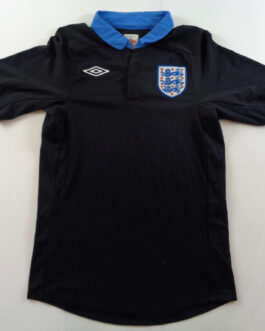 2011-13 England Away Shirt S Small Black Umbro