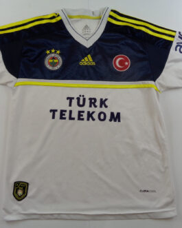 2012-13 Fenerbahce Away Shirt S Small White Adidas