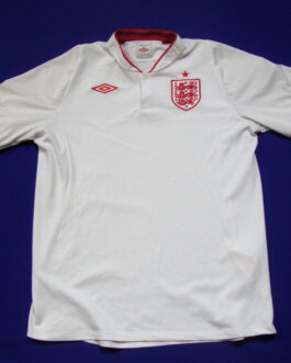 2012-14 England Home Shirt L Large White Umbro