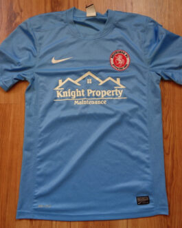 2014-15 Belvedere FC Away Shirt S Small Blue Nike #13