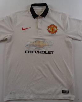 2014-15 Manchester United Away Shirt M Medium White Nike