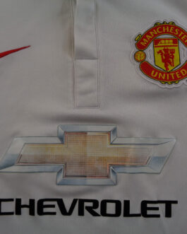 2014-15 Manchester United Away Shirt M Medium White Nike