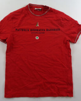 AERONAUTICA MILITARE T-Shirt Casual Classic Red S Small