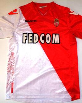 2011-12 AS Monaco Home Shirt XL Extra Large Macron