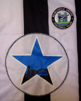 1979-80 Newcastle United Home Shirt M Medium Score Draw Official Replica