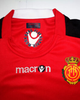 2010/11 REAL MALLORCA Home Shirt L Large Red Macron