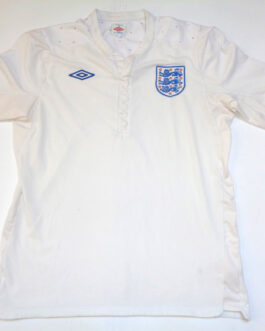 2010/12 ENGLAND Home Football Shirt L Large White Umbro