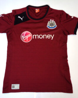 2012-2013 NEWCASTLE UNITED Away Football Shirt XS Extra Small Maroon Red Puma