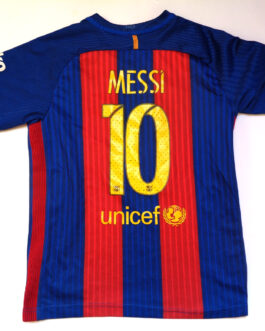 2016/17 FC Barcelona Home Football Shirt M Medium #10 MESSI Nike