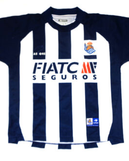 2004/2006 REAL SOCIEDAD Home Football Shirt XS Extra Small Astore