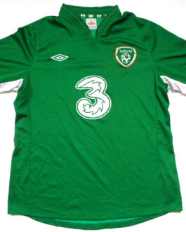 2012/14 IRELAND Home Football Shirt L Large Green Umbro