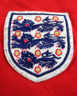 1966 ENGLAND Away Football L/S Shirt S Small Red TOFFS Official Replica