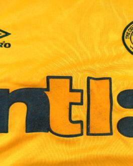 2000/02 CELTIC GLASGOW Football Away Shirt L Large Yellow Umbro