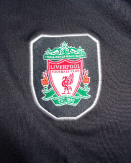 2004/05 LIVERPOOL Training Polo Shirt M Medium Grey Reebok