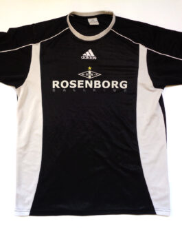 2004/05 ROSENBORG TRONDHEIM Training Football Shirt S Small Black Adidas