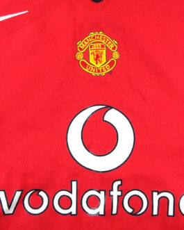 2004/06 MANCHESTER UNITED Home Shirt XXL 2XL Red Nike