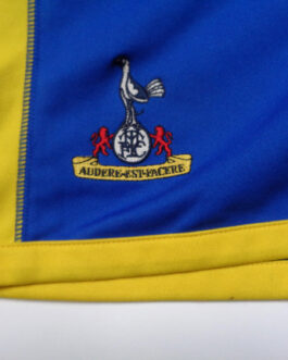 2005/06 TOTTENHAM Away Football Shorts L Large Blue Kappa