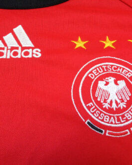 2005/07 GERMANY Away Football Shirt XS Extra Small Red Adidas