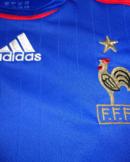 2006/07 FRANCE Home Football Shirt XS Extra Small Blue Adidas