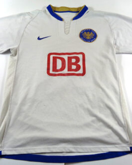 2006/07 HERTHA BERLIN Football Away Shirt S Small White Nike #13 Christian GIMENEZ