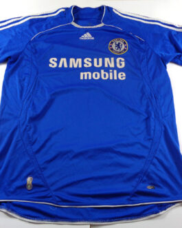 2006/08 CHELSEA LONDON Home Shirt L Large Blue Adidas