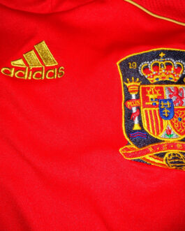 2008/09 SPAIN Home Football Shirt XS Extra Small Red Adidas