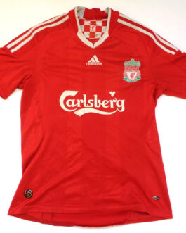 2008/10 LIVERPOOL Home Shirt S Small Red Adidas