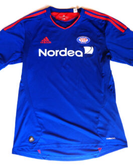 2010/11 VALERENGA OSLO Home Football Shirt M Medium Blue Adidas