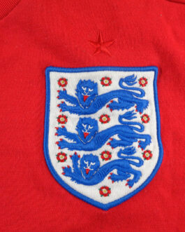 2010/12 ENGLAND Away Football Shirt L Large Red Umbro
