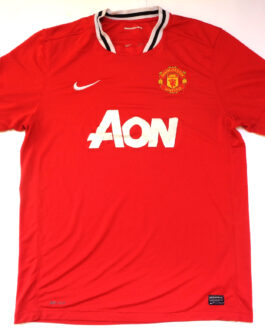 2011/12 MANCHESTER UNITED Home Shirt XL Extra Large Red Nike