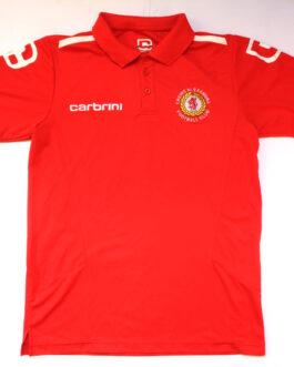 2012/13 CREWE ALEXANDRA Training Polo Football Shirt S Small Red Carbini