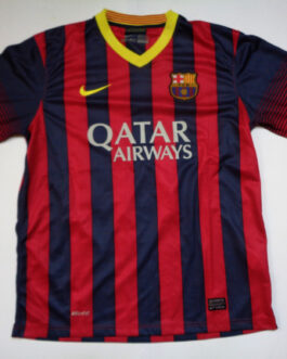 2013/14 BARCELONA FCB Home Football Shirt XL Extra Large Adidas #14 Barca Tour