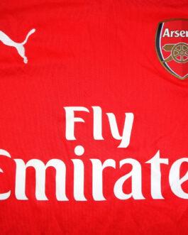 2014/15 ARSENAL LONDON Home Football Shirt XLB Extra Large Boys Puma