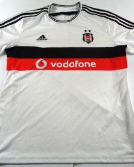 2014/15 BESIKTAS ISTANBUL Home Football Shirt XL Extra Large White Adidas