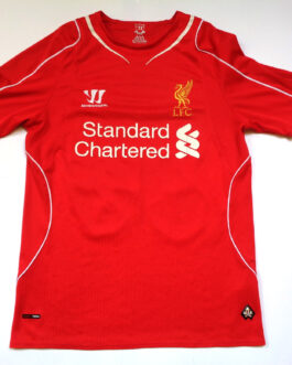 2014/15 LIVERPOOL Home Football Shirt S Small Red Warrior #20 Adam LALLANA
