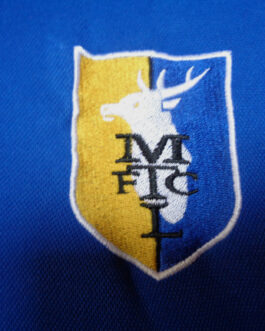 2014/15 MANSFIELD TOWN Training Football Shirt M Medium Blue Surridge