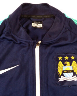 2015/16 MANCHESTER CITY Training Track Top Tracksuit Football Shirt S Small Nike