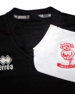 2017/18 LINCOLN CITY Training Football Shirt XS Extra Small Black Errea