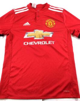 2017/18 MANCHESTER UNITED Home Football Shirt XLB Extra Large BOYS #9 Romelu LUKAKU