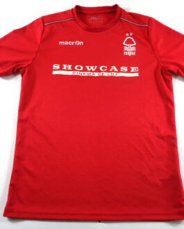 2018/19 NOTTINGHAM FOREST Training Football Shirt S Small Red Macron